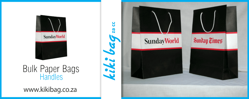 sunday world and sunday times promotional bags