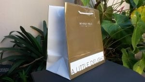 beverly hill promotional bag