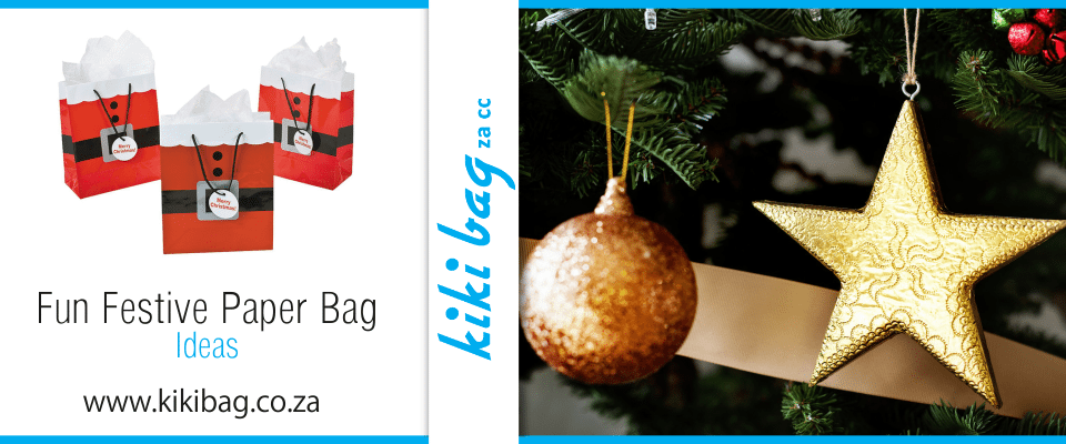 festive season paper bag ideas