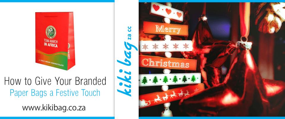 Festive Christmas signs
